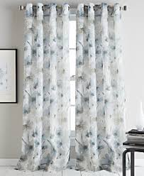 Navy And White Drapes Curtains And Window Treatments Macy U0027s