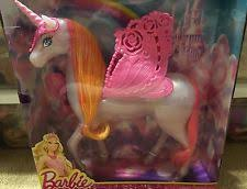barbie fairytale pegasus unicorn horse toy ebay