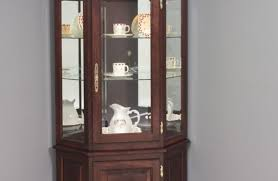 Corner Cabinet With Glass Doors Corner Cabinets With Drawers Ideas On Corner Cabinet