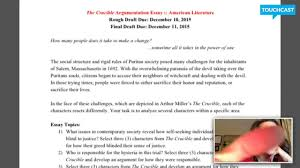 thesis statement for the crucible crucible essays the crucible revenge theme essay conflict in english the crucible essay english 11 the crucible essay