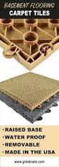 Carpet Tiles In Basement Natural Selections Design Center Carpet Best Basement Floor Laying
