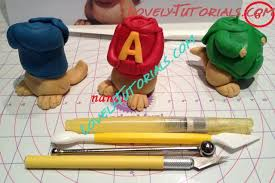 alvin and the chipmunks cake toppers gumpaste fondant polymer clay alvin and the chipmunks