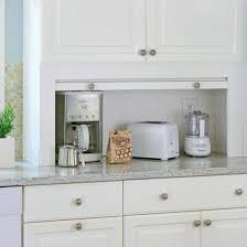 Ideas For A Small Kitchen Remodel Best 25 Kitchen Appliance Storage Ideas On Pinterest Appliance