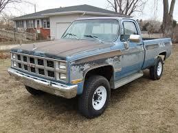 Classic Chevrolet 4x4 Trucks - 1982 gmc k2500 4x4 6 2l diesel oem paint 99 rustfree chevrolet c