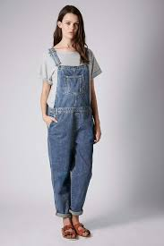 maternity dungarees lyst topshop maternity moto denim leg dungarees in blue