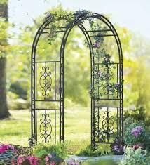 wedding arches ebay outdoor trellis with gate garden metal arch arbor wrought iron