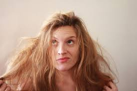 tame gray hair that sticks up how to fix bed hair livestrong com
