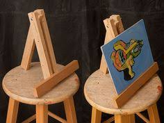 how to make a simple table top easel how to make small display easels black display and craft