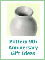 9th anniversary gift ideas 18 9th wedding anniversary gifts for 9th year pottery
