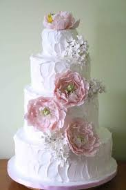 wedding cake gum gumpaste flowers for wedding cakes pretty wedding cake with casual