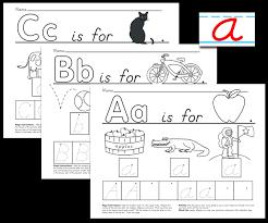 printable alphabet kindergarten download center