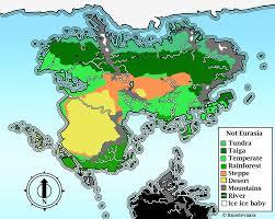 Biome Map Coloring Taiga Map Moon Palace Cancun Map Free World Map
