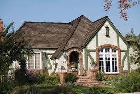 tudor bungalow tudor bungalow house designs style homes revival plans home red