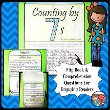 Counting By 7s Book Report Counting By 7s By Goldberg Sloan Flip Book Flip Books