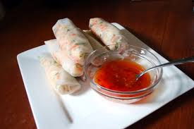 paper wraps rice paper rolls