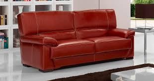 canapé cuir de buffle 3 places salon arezzo 3 2 en véritable cuir de buffle fabrication italienne