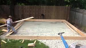 how to build a slab foundation for a garage house plans