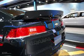 camaro rear spoiler 2014 naias chevy camaro z28 rear spoiler motoring rumpus