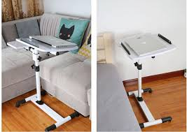 adjustable movable laptop table degrees rotation multipurpose movable laptop table anti slip height