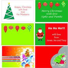 personalised christmas labels 60mm x 40mm u2013 set 48 u2013 quixstix