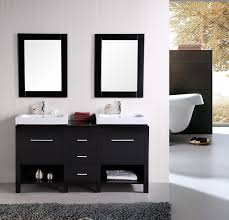Bathroom Design Nyc by Design Element New York Double 60 6 Inch Modern Bathroom Vanity