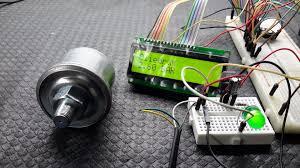 vdo oilpressure sensor for arduino 8 steps