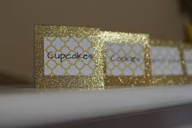 Candy Labels For Candy Buffet by Custom Glitter Candy Buffet Tags Candy Buffet Labels Candy