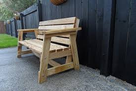 simple garden bench seat made by regan