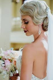 vintage bridal hair vintage style wedding jeff orlando fl deco weddings