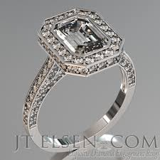 halo design rings images Pave diamond enagement rings antique style engagement ring round jpg