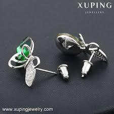 most beautiful earrings china crystals earring from guangzhou wholesaler guangdong xuping