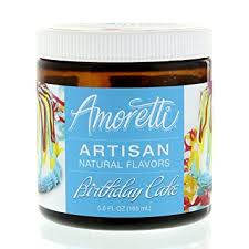 wedding cake extract amoretti artisan flavor birthday cake
