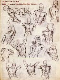 Anatomy Of Human Body Sketches Male Body Sketches By Vinnie14 On Deviantart Muscles Drawing