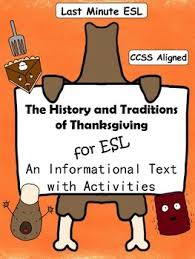 history and traditions of thanksgiving informational text and