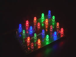 weekend project led light brick