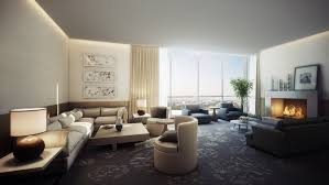 living room beige corner sofa with square coffe table feat grey