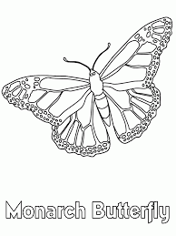monarch butterfly coloring pageskids coloring pages