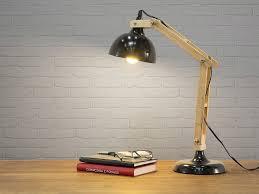 le de bureau articul le de bureau articulé en métal et bois hauteur 53cm