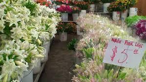 los angeles florist los angeles flower district series stock footage 3165598