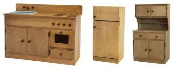 childrens wooden kitchen furniture children s kitchen play set amish handmade children s oak kitchen