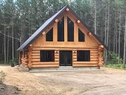 wooden log cabin wooden log cabin the couvreur des bois 1579620