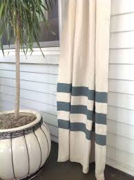 masculine diy drop cloth curtains with a twist and diy drop cloth