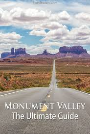 Monument Valley Utah Map by The Ultimate Guide To Monument Valley Earth Trekkers