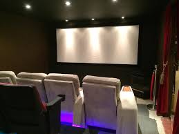 motorized home theater screen building a basement theater advice on projector screen seating