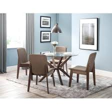 glass top dining table set 4 chairs white glass dining table and chairs lesdonheures com