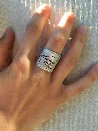 large finger rings images Messages squared ring handwritten heidijhale jpg