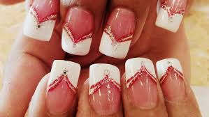 20 alluring line nail designs to try u2013 naildesigncode