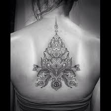 lotus flower back tattoo best tattoo ideas gallery