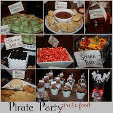 just sweet and simple pirate party