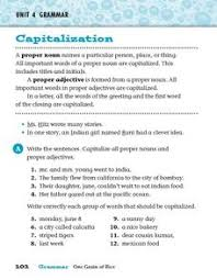 common and proper nouns worksheets for 3rd grade fioradesignstudio